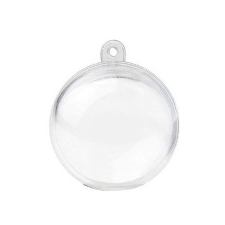 Boule transparente 4 cm boule plexi les 6