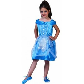 Deguisement Princesse Bleue Light Princess Enfant