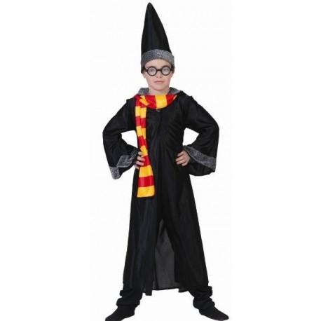 Déguisement Magicien Harry Enfant avec Lunettes