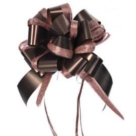 Noeud automatique chocolat 30 mm les 5