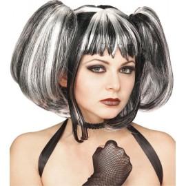 Perruque Gothique Streaked Fairy Femme