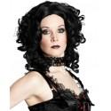 Perruque Gothique Edwardina avec Boucles Femme