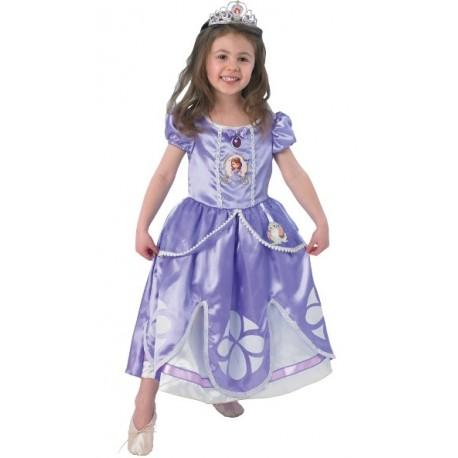 Déguisement princesse Sofia fille luxe Disney