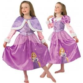 Déguisement Raiponce Disney Rapunzel Winter Luxe Enfant