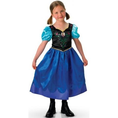Déguisement Anna de La Reine des Neiges fille Disney Frozen