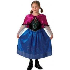 Déguisement Anna de La reine des neiges Disney Frozen deluxe