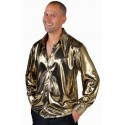 Déguisement chemise disco or homme 70's