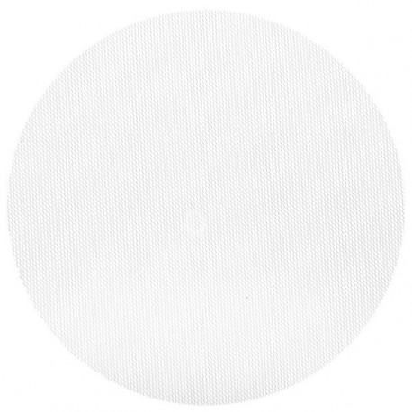 Ronds Tulle blanc a dragees 24 cm les 10