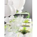 Lanternes Boule Chinoise Papier Blanc 30 cm les 2