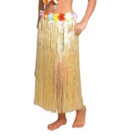 Déguisement Jupe hawaïenne longue naturelle adulte