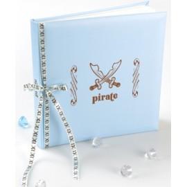 Livre d'or Pirate Bleu ciel