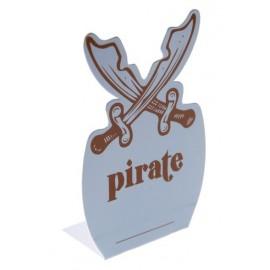 Marque place Pirate Bleu ciel les 6
