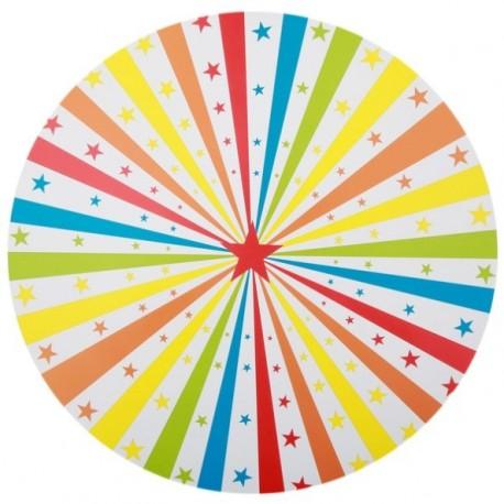 Set de table Cirque Etoiles 34 cm les 6