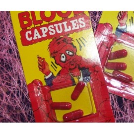 Capsules de faux sang les 3