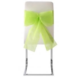 Noeuds de chaise automatiques intissé Vert anis les 10