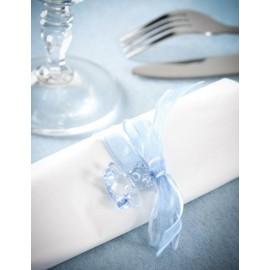 Perles Ours Turquoise Transparent 2.9 cm les 6