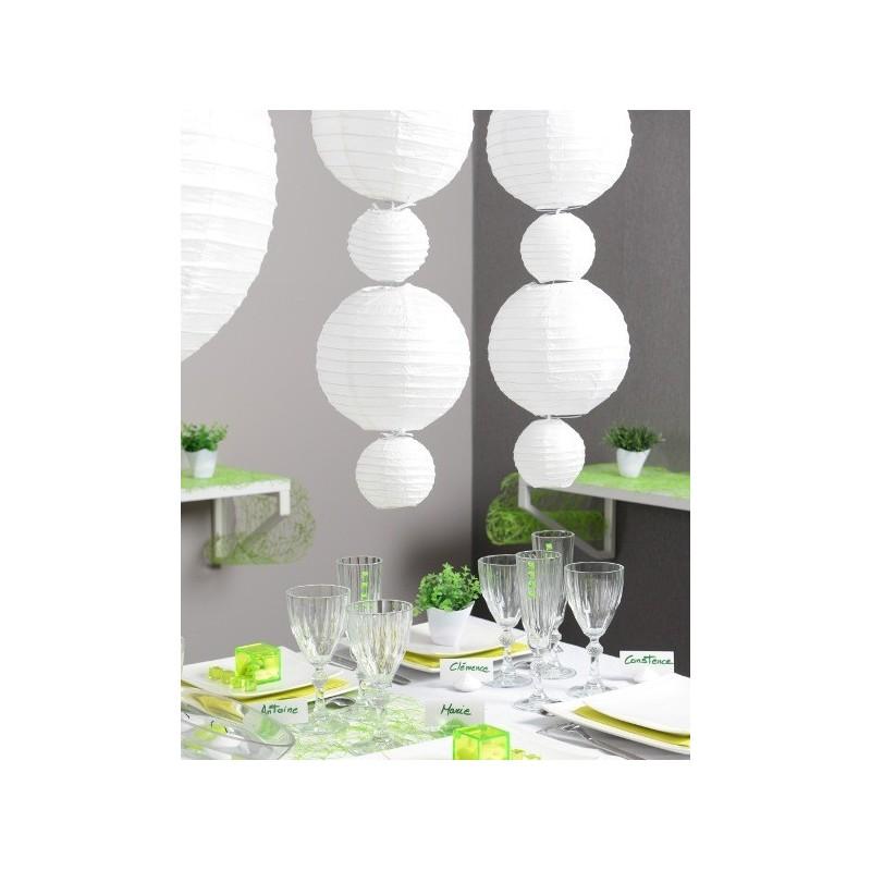 lanterne boule chinoise papier rose 30 cm les 2. Black Bedroom Furniture Sets. Home Design Ideas