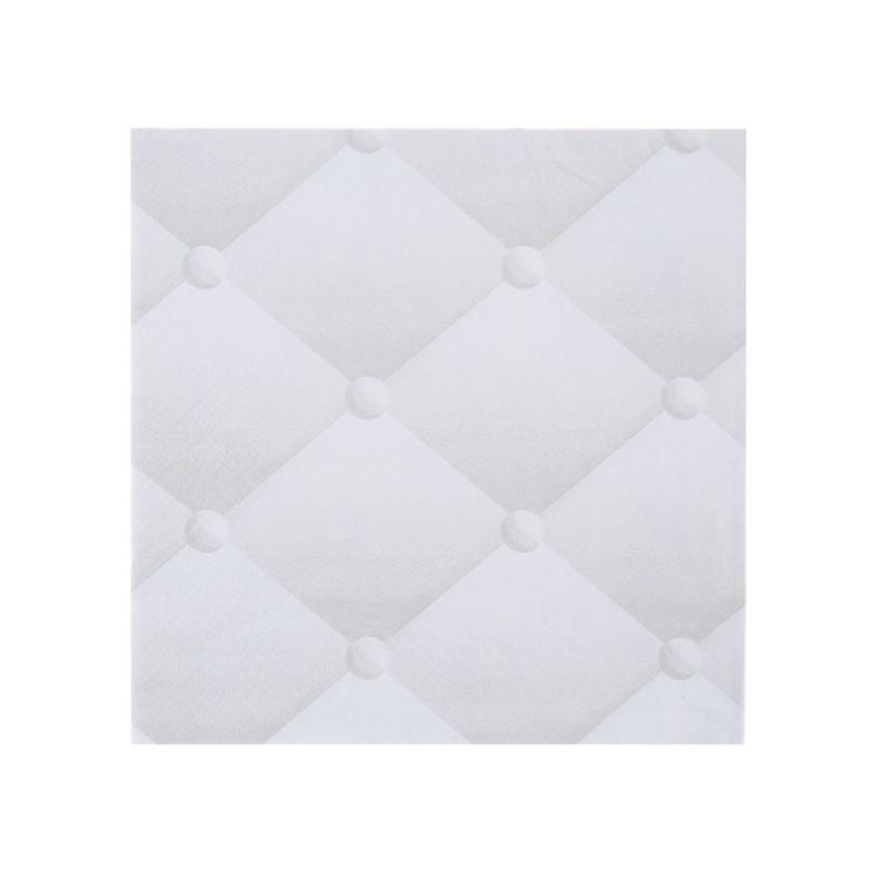 Serviette de table capitonn e blanche les 20 - Serviette de table blanche ...