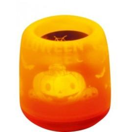 Bougie Halloween Magique Lumineuse Orange
