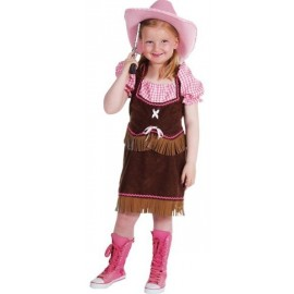 Déguisement cowgirl fille luxe