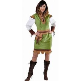 Costume Robin des bois Adulte Femme Deluxe