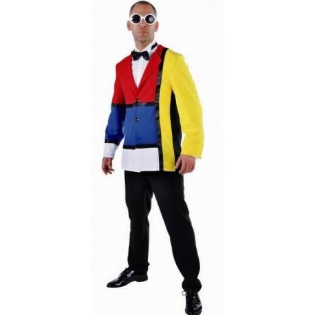 Déguisement 60's veste Modern Art homme deluxe