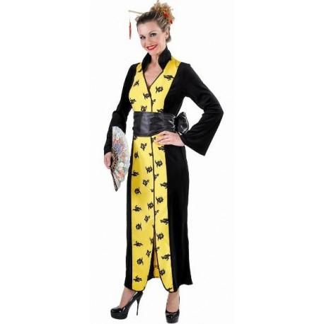 Déguisement chinoise femme kimono chinois luxe