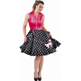 Costume Robe Rock'n Roll luxe femme années 50-60