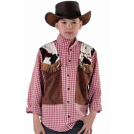 Déguisement cowboy garçon luxe