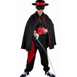 Déguisement cape Zorro enfant deluxe