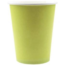 Gobelet carton Vert Anis les 10 Gobelet jetable