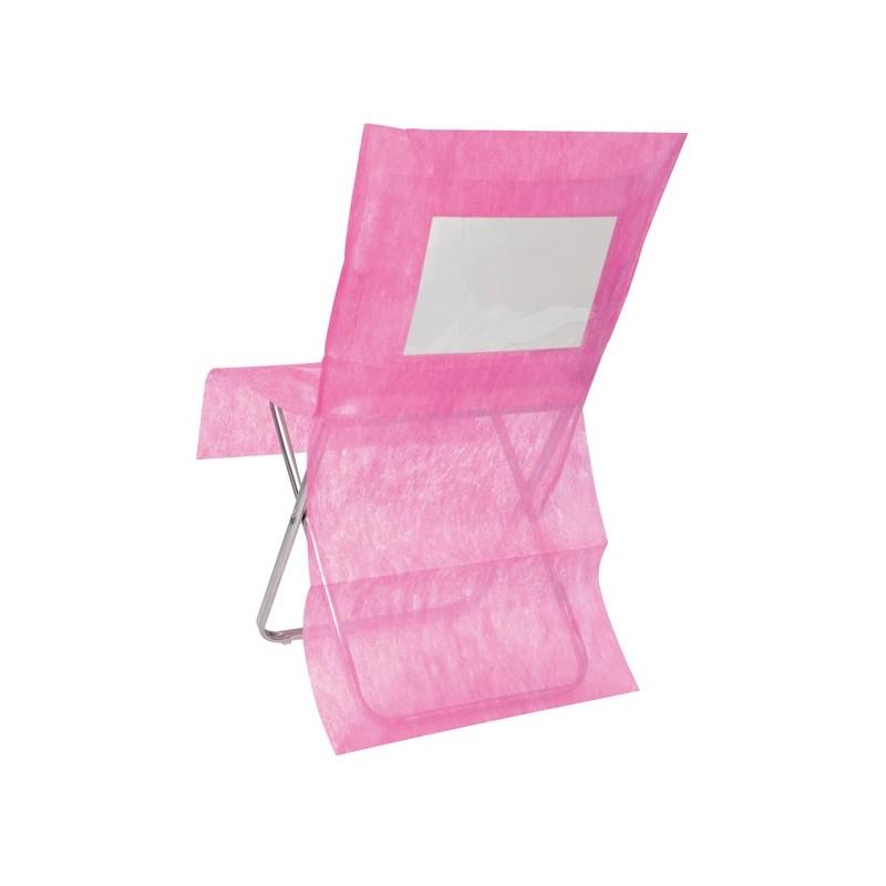 Housse de chaise intiss couleur personnalisable les 10 for Chaise de couleur
