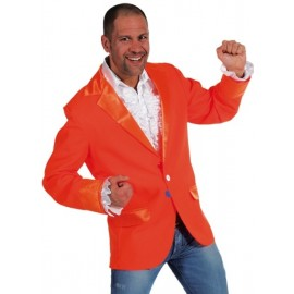 Déguisement Veste Colbert orange homme luxe