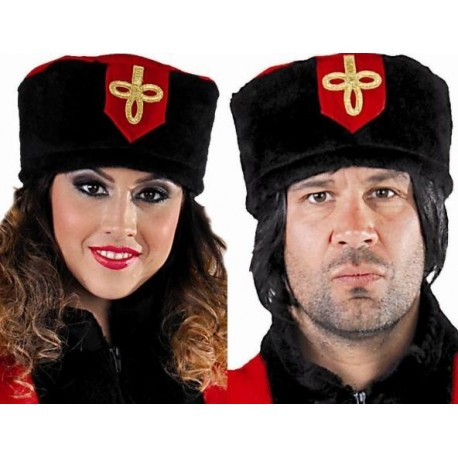 Chapeau cosaque russe adulte deluxe