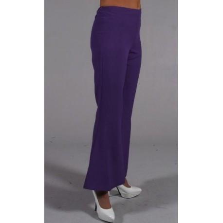 d guisement pantalon hippie violet femme luxe. Black Bedroom Furniture Sets. Home Design Ideas