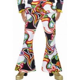 Déguisement pantalon hippie fantasy homme luxe