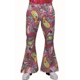 Déguisement pantalon hippie chic funky homme luxe