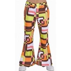 Déguisement pantalon hippie chic Rétro homme luxe