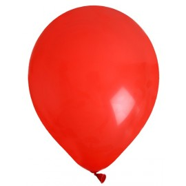 Ballons latex Rouge 23 cm les 8 ballons de baudruche