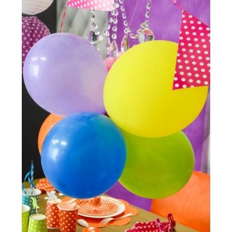 Ballon turquoise 23 cm les 8 Ballon de baudruche