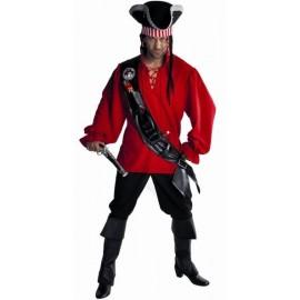 Déguisement boucanier pirate homme luxe