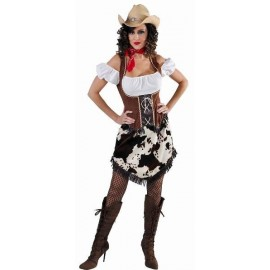 Déguisement cowgirl femme luxe