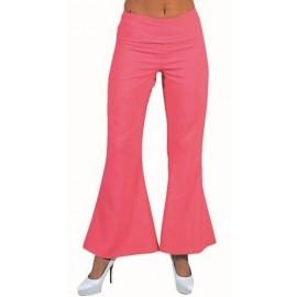 Déguisement Disco Pantalon Rose Femme Luxe