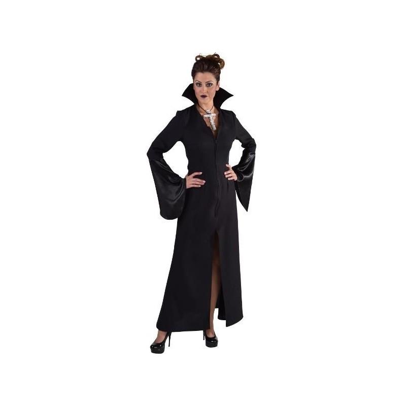 d guisement vampire noir femme halloween sexy deluxe. Black Bedroom Furniture Sets. Home Design Ideas