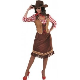 Déguisement cowgirl country femme luxe