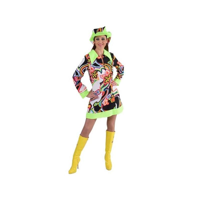 D guisement disco fantasy femme ann es 60 70 luxe - Disco annee 70 ...
