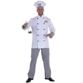 Déguisement chef cuisinier homme luxe