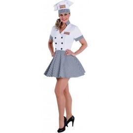 Déguisement chef cuisinier femme luxe