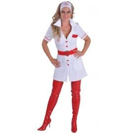 Déguisement infirmière femme nurse love luxe