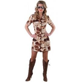 Déguisement Desert Storm militaire femme luxe